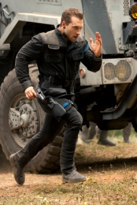 "Jai Courtney plays Dauntless leader Eric in ""The Divergent Series: Insurgent."" (Andrew Cooper / Lionsgate)"